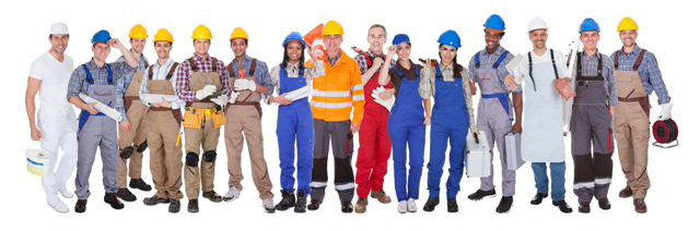 group of contractors