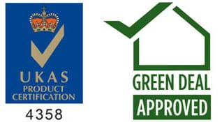 UKAS & Green Deal Logo