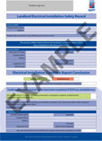 landlord electrical installation safety record